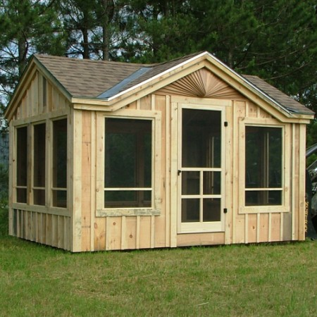 Garden Sheds Florida florida room kits | screen house plans | screen porch kits