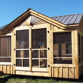 Prefab cabin kits cabin kit homes prefab guest cottage for Guest cabin kits