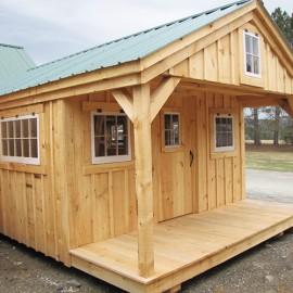 12x18 Bunkhouse - Exterior