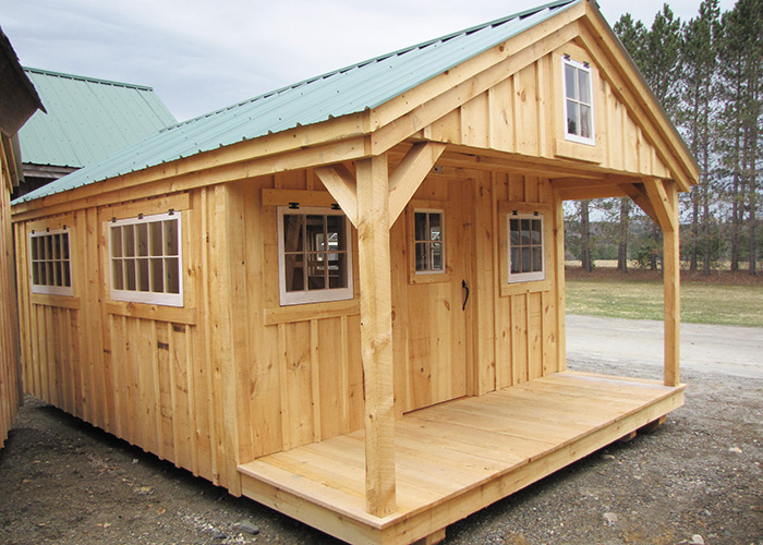 Bunk house for 12x18 garage plans