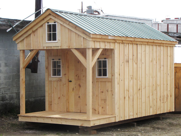 8x16 Bunk House - Tiny house on wheels for sale