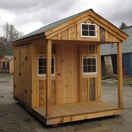 8x12 Bunkhouse - Exterior