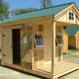8x12 Bunkhouse - Custom Exterior