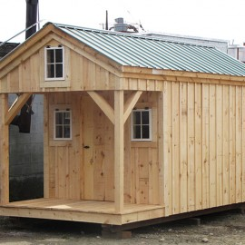 8x12 bunkhouse exterior - Tiny House Kits
