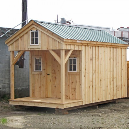 8x16 Bunk House