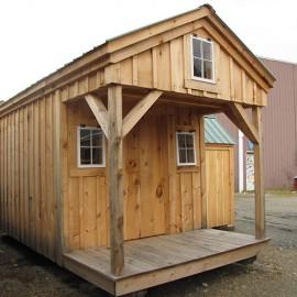 8x16 Bunkhouse - Exterior