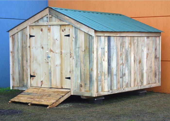 post beam shed kits