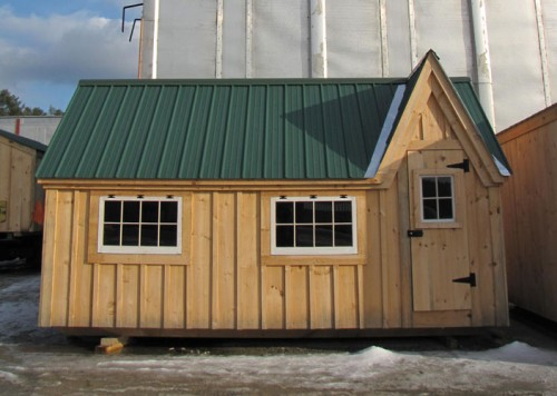 10x12 Dollhouse Exterior