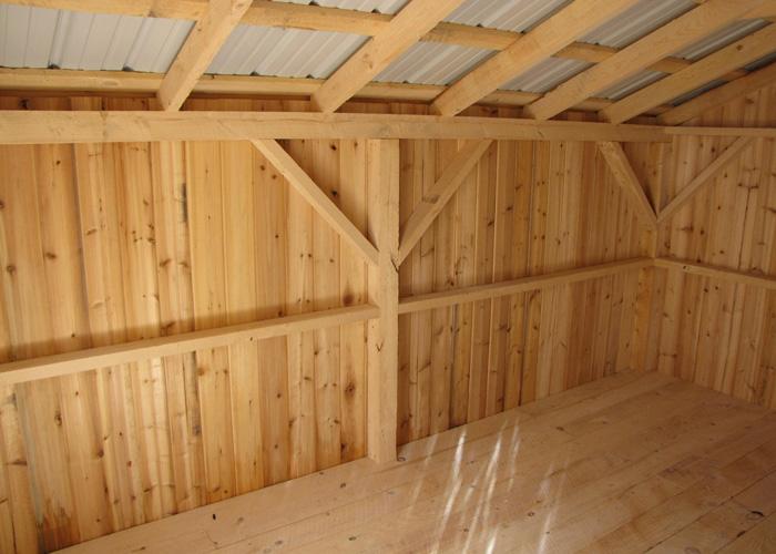 Wood Storage Shed Kits Post And Beam Shed Kits