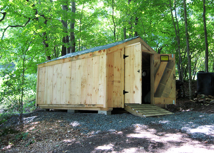 Wood storage shed kits post and beam shed kits for Affordable storage sheds