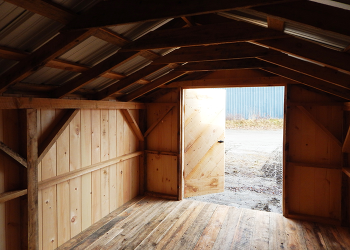 Wood Storage Shed Kits Post And Beam Shed Kits