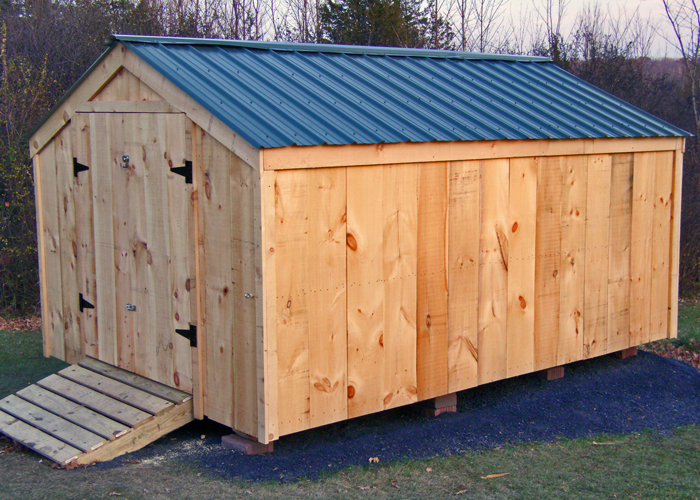 Vermonter series 10x jamaica cottage shop for Large storage sheds for sale