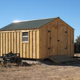 10x14 Vermonter - Exterior