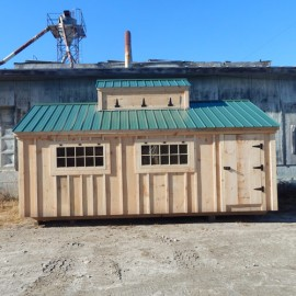 10x16 Sugar Shack - custom exterior