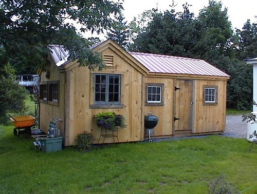 Garden shed door plans atv storage shed plans for Atv shed plans