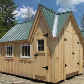 12x10 Dollhouse - Exterior