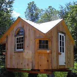 12x12 Cross Gable - custom exterior