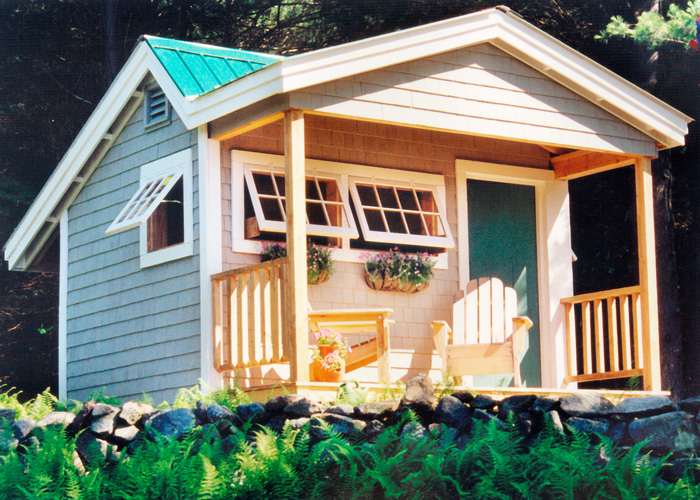 Cars For Sale In Jamaica >> 12x12-potting-fort-shown-with-cedar-shingle-siding-porch ...