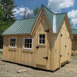 12x16 Dollhouse Exterior