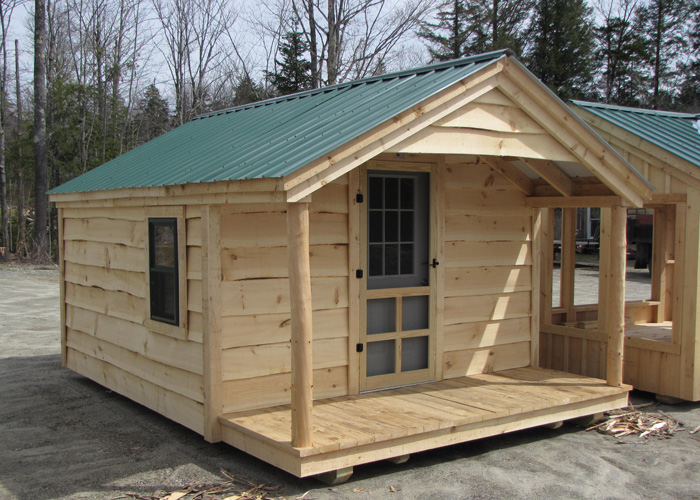 Prefab home office prefab office outside office shed for Log home plans with cost to build