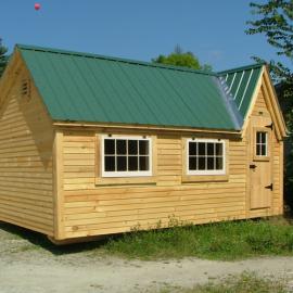 12x16 Dollhouse - Custom exterior
