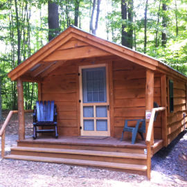 12x16 Home Office - with Adirondack siding