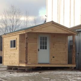 12x20 Home Office - custom exterior