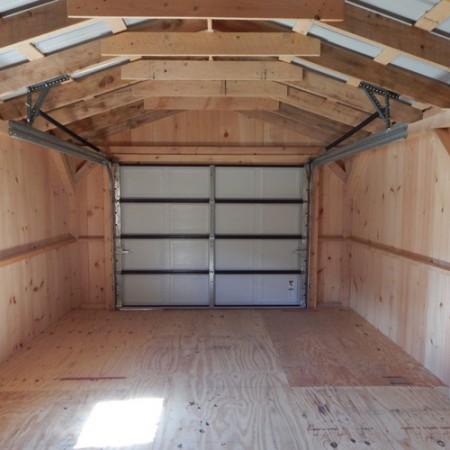 12x20 garage custom interior for 18 x 8 garage door screen