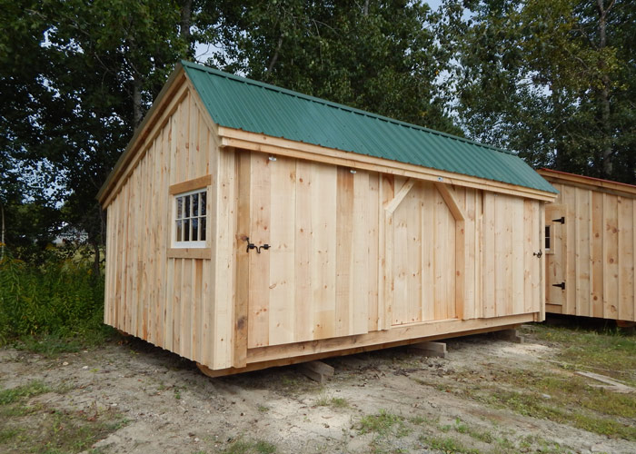 3 Bay Shed Wooden Shed Kits For Sale Jamaica Cottage Shop