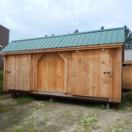 12x20 Three Sled Shed - Inventory clearance model