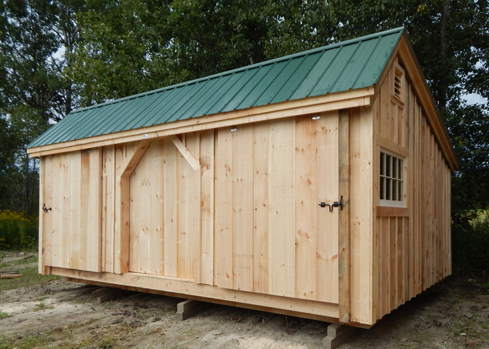 3 bay shed wooden shed kits for sale jamaica cottage shop for Equipment shed