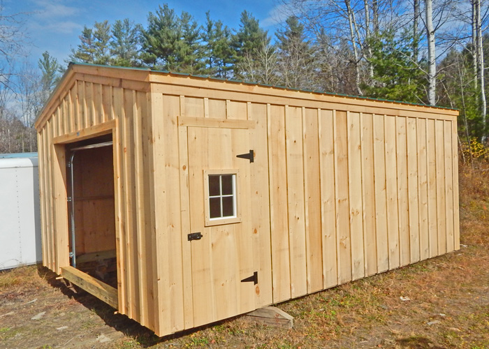 14x20 shed post and beam garage kits jamaica cottage shop for 12 x 14 garage door