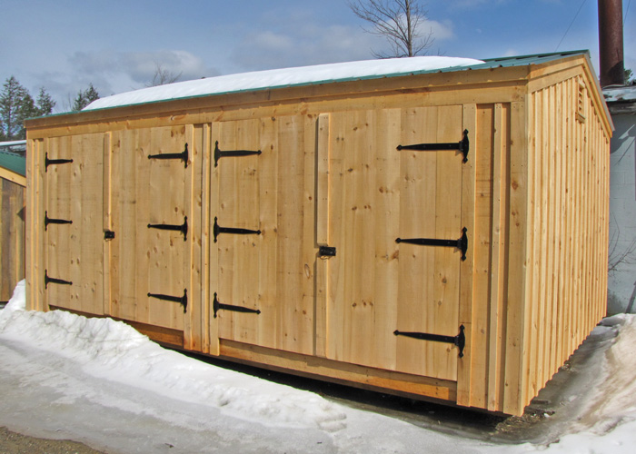 14x20 shed post and beam garage kits jamaica cottage shop for 14 x 8 garage door