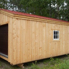 14x20 Barn Garage - Custom Exterior