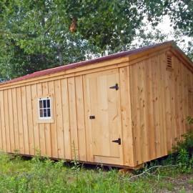 14x20 Barn Garage - Custom Exterior