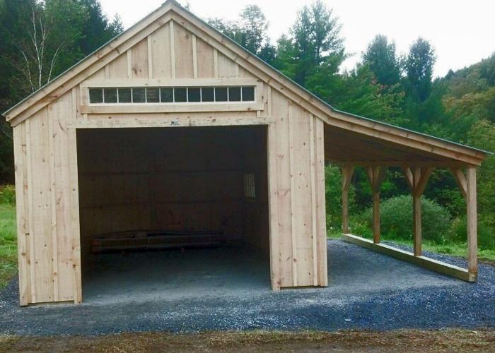 Car Garages With Overhangs