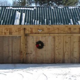20x30 Barn - Custom exterior