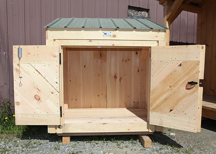 Garbage Bin Storage | Wooden Garbage Bin | Jamaica Cottage Shop