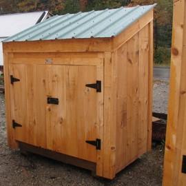 3x5 Garbage Bin - Exterior