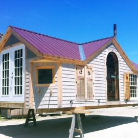 12x24 Cross Gable - custom built exterior