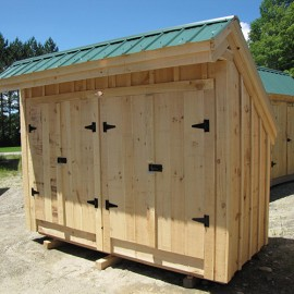 4x10 Garbage Shed - Outdoor trash can enclosure