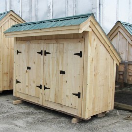 4x10 Garbage Shed - recycling storage shed