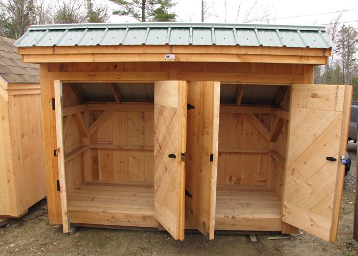 ... 4x10 Garbage Shed   Garbage Can Storage Shed ...