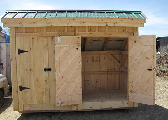 Garage Enclosure Plans : Garbage can shed trash outdoor enclosure