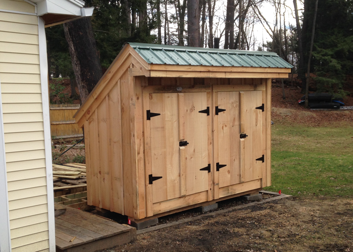 Garbage Can Shed Trash Shed Outdoor Trash Can Enclosure