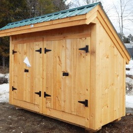 4x10 Garbage Shed