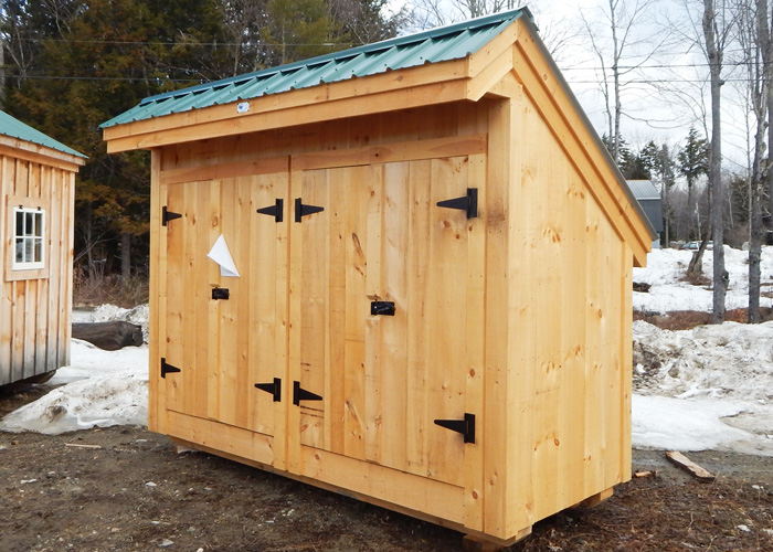 garbage can shed trash shed outdoor trash can enclosure - Garden Sheds Massachusetts