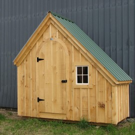 4x10 Hardware Shed - Exterior