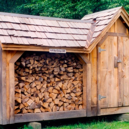 4x14 fire woodshed