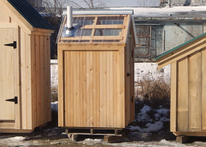 ... 4x4 Working Outhouse ... & Out Houses for Sale   Outhouse Kit   Wooden Outhouses for Sale Pezcame.Com